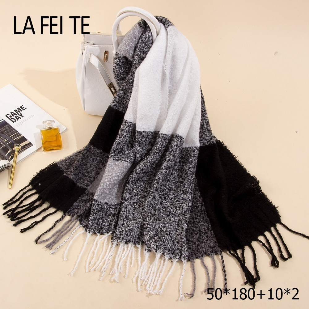 Long Cashmere Winter Scarf Wome