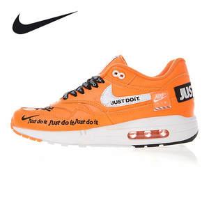 NIKE Men s Women s Running Shoes Air Max Zero QS 87 OW Joint Orange Shock  Absorbing d4c243738c22