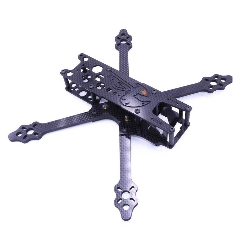 High Quality Guo-FPV BF 220mm Carbon Fiber RC Drone FPV Racing Frame Kit 4mm Arm Thickness 15mm/18mm/25mm Height good quality luo han guo extractsiraitia grosvenorii extractmonk fruit sweetener 10 1 600g