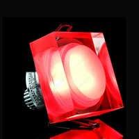 1 W/3 W/5 W/6 W/7 W LED plafonnier Dimmable/N luminaire brique cristal vers le bas lumière acrylique armoire salon salle d'exposition