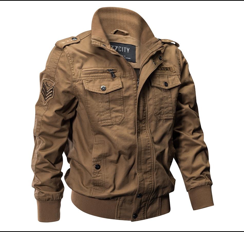 HTB1 Du m41YBuNjy1zcq6zNcXXaH 2018 Plus Size Military Jacket Men Spring Autumn Cotton Pilot Jacket Coat Army Men's Bomber Jackets Cargo Flight Jacket Male 6XL