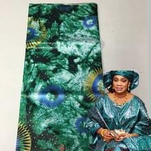 Африканский Базен Riche парча кружева Африка одежда для вечеринок ткань новый Goldeb парча 5 ярдов кусок моды парча ткань 30