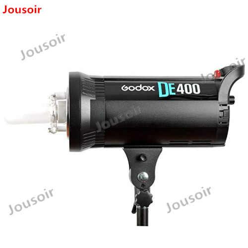 Godox DE400 студийный флэш-светильник 400 Вт GN65 компактный стробоскопический светильник ing фотография лампа голова 400Ws CD50