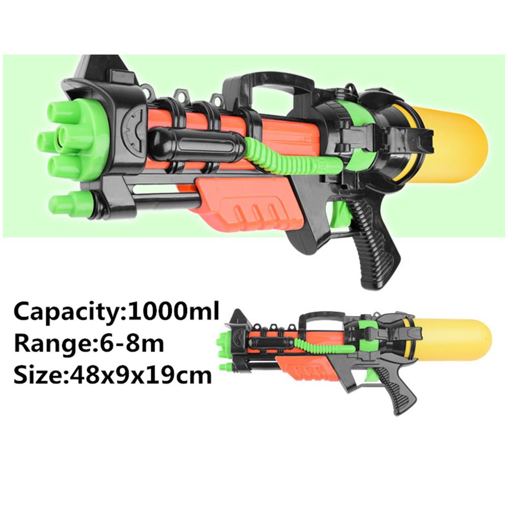 cheapest Kid Water Gun Beach Pump Action Water Three-tube Pistol Squirt Summer Toys