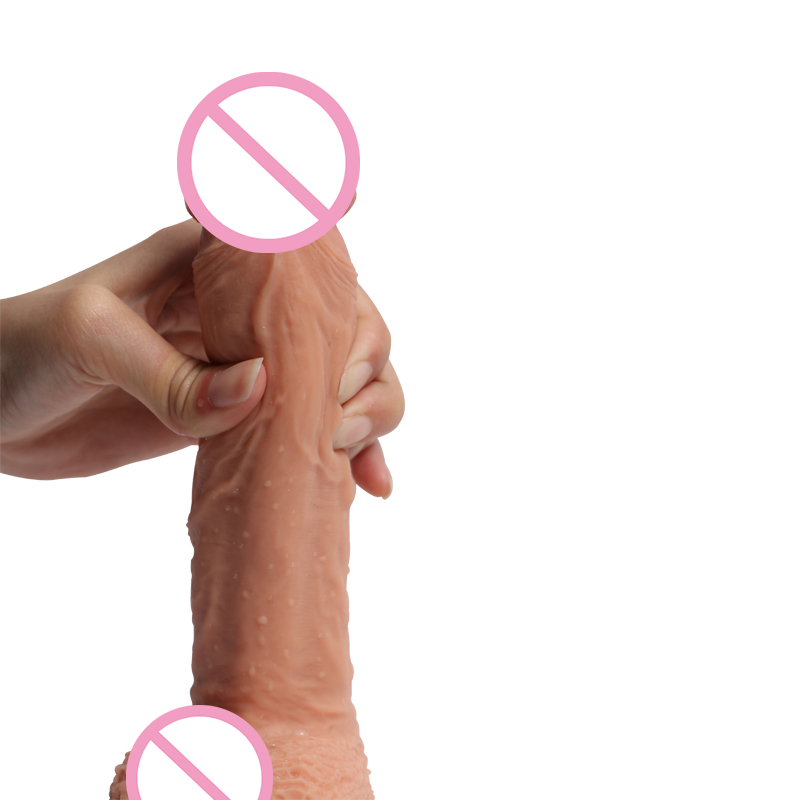 Sex Shop Hot Silicone Dildo Realistic Penis Suction Cup Male Artificial Penis Woman Dildos Penis Dick Adult Sex Toys For Woman. auto handfree retractable piston pricky male masturbation cup for men penis massage aircraft cup passion cup adult sex products