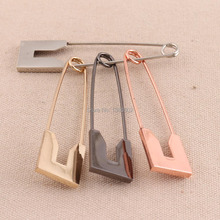 5pcs /lot  80mm silver/rose gold /black /gold color large Safety Pins Brooch Sewing Tool