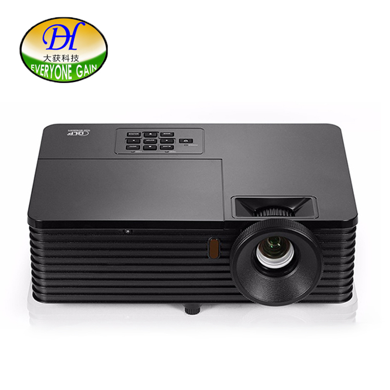 Everyone Gain 3500ANSI Lumen LED Projector DLP 3D Technology Digital Proyector Support 1080P Office Teaching Beamer DH-L200W unic p1 p1h dlp projector 30 ansi lumen mini tiny handheld pocket proyector built in battery home cinema theater beamer usb tf