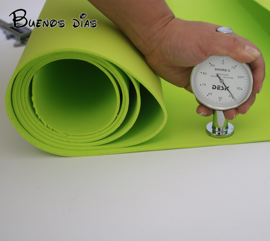 3mm Thickness  Lemon Green Eva Foam Sheet,Handmade Material Designed For Cosplay And Costuming