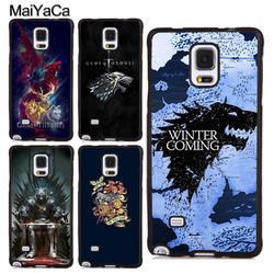 MaiYaCa скоро зима «Игры престолов» чехол для samsung Galaxy Note 9 5 8 S4 S5 S6 S7 край S8 S9 S10 плюс Lite ТПУ чехол для телефона