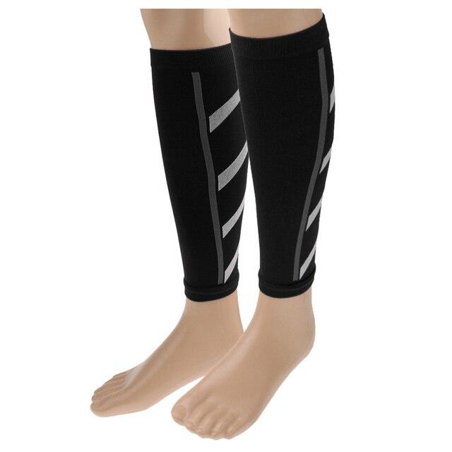 057ec5e7f3cd1e Unisex Running Athletics Compression Sleeves Calf Leg Brace Wrap Shin  Splints