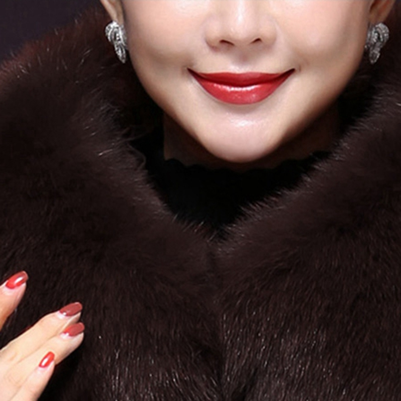 À Col D'hiver Grande Longue frost Fur Mode Black caramel Capuchon Fourrure Manteau X1648 Taille Femme violet Collar Femmes Veste Chaud Doudoune De Nouveau YXvPdd