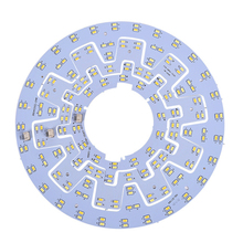 цена на Led ceiling light source 5730 lamp bead gear type illuminating plate round light source retrofit lamp board