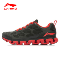 LI NING Men Running Shoes Light Air Mesh Breathable Cushioning Li Ning Arch Techonology Sneakers Men