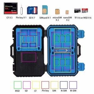 Image 5 - قارئ بطاقة بولوز + 22 بوصة 1 بطاقة ذاكرة مضادة للماء/بطاقة SD صندوق تخزين 1 بطاقة قياسية + 2Micro SIM + 2nano  sim + 7SD + 6TF + 1 بطاقة PIN