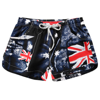 Men Women Beach Shorts 3D Trousers Print Loose Elastic Summer Boardshorts panama Swimming trunks Beach Men Women Leisure shorts