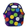 Neoprene lancheira saco de piquenique saco de déjeuner para de loncheras zipper neoprene almoço bolsa merienda infantil Therma