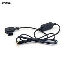 Регулируемый кабель питания FOTGA 12 В D tap для Panasonic EVA1/ Sony FS7 FS5 Mark II Anton