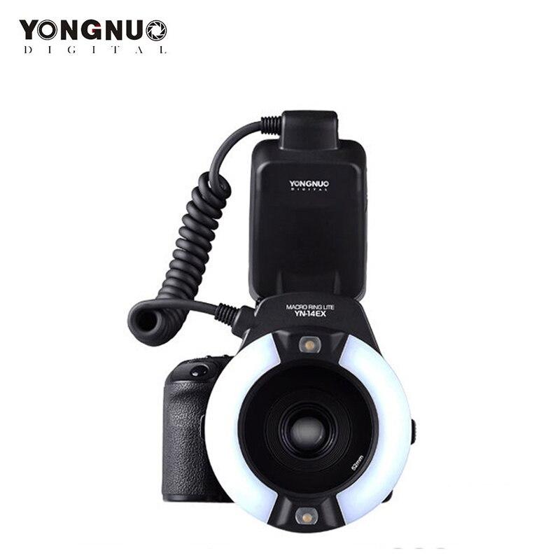 Yongnuo YN-14EX, YN14EX TTL Macro Ring Lite Flash Speedlite Light for Canon 5D Mark II 5D Mark III 6D 7D 60D 70D 700D 650D 600D