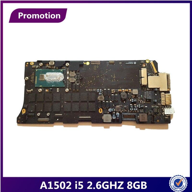 """Apple Macbook Pro 13/"""" A1502 Late 2013 Logic Board w i5-4258U 2.4Ghz CPU 661-8144"""