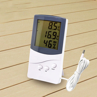 High Accuracy Freezer Refrigerator Household Thermometer Medical Cold Storage With Probe Thermometer Temperature Meter