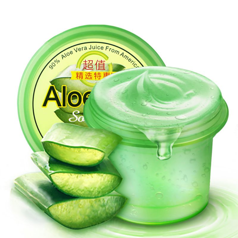 Unisex Aloe Vera Gel Blain Imprint Blain Scar Concave Hole Face Cream Anti-sensitive Oil-Control Aloe Vera Sunscreen Cream