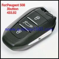 OEM Car Key For PEUGEOT 208 308 508 3008 5008 ETC SMART Keyless Entry 3 BUTTON