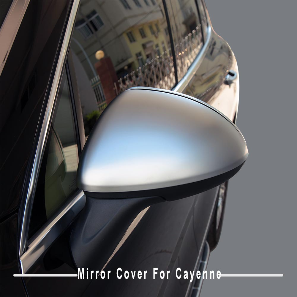 4pcs High quality ABS plastic chrome front mirror lamp light cover trim for 2011 2012 2013 2014porsche cayenne car styling 6pcs abs chrome interior inner door side handle bowl cover trim for 2011 2012 2013 2014 2015 2016 porsche cayenne car styling