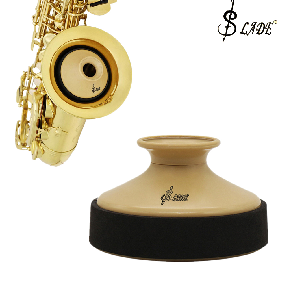 SLADE ABS Saxophone Mute Dampener Silencer For Alto Sax Saxophone Professional Musical Instrument Parts Accessories