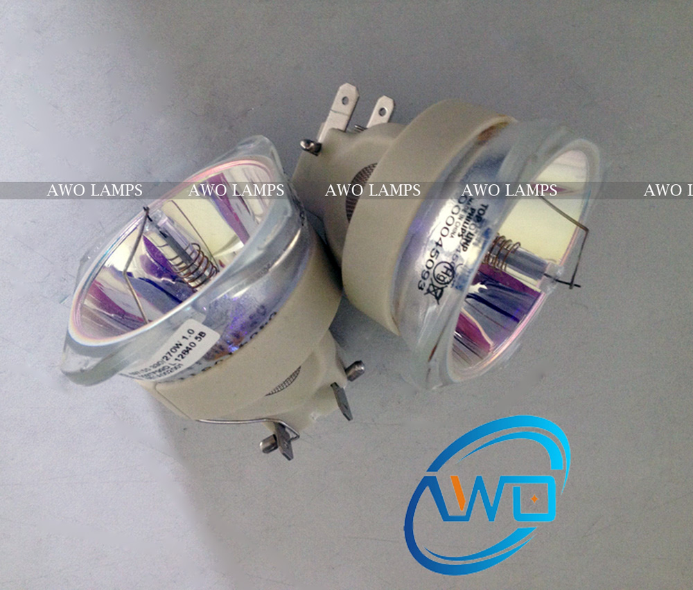 AWO DT01281 font b Projector b font Lamp Bulb 100 Original UHP Bare for HITACHI CP