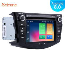 Seicane Android 8.0 7 Inch 2Din 8-Core Car Radio GPS Audio Multimedia Player Head Unit For 2006-2012 TOYOTA RAV4