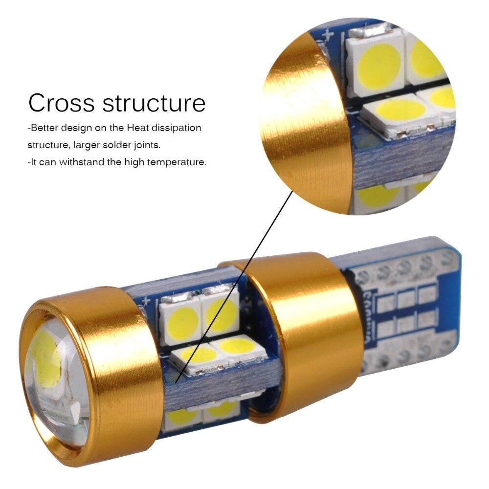 AutoEC 2x Yeni Yüksək keyfiyyətli T10 19 SMD 3030 LED W5W 2825 192 - Avtomobil işıqları - Fotoqrafiya 4