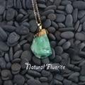 new rainbow purple green fluorite crystal necklace tourmaline stone quartz crystal pendant natural citrine healing point pendant