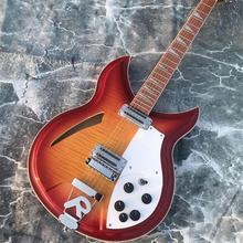 12-string Гитары, Rickenback 360 Электрогитары, двусторонняя запылано MapleTop, палисандр Накладка имеет блеск лака на я