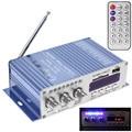 Mini Hi-Fi HY502 USB MP3 DVD CD FM SD Leitor Digital para Moto Auto Stereo Amplificador De Potência De Som modelo de Áudio Player de Música