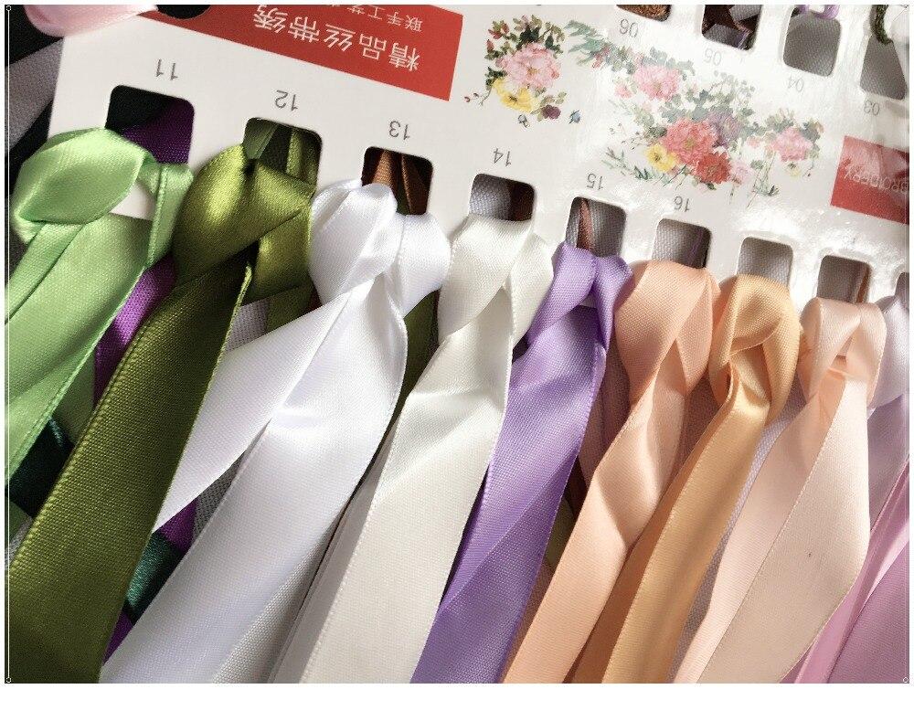 Prelucrare de nunta, DIY Panglică Cross cusatura Set pentru broderie - Arte, meșteșuguri și cusut - Fotografie 6