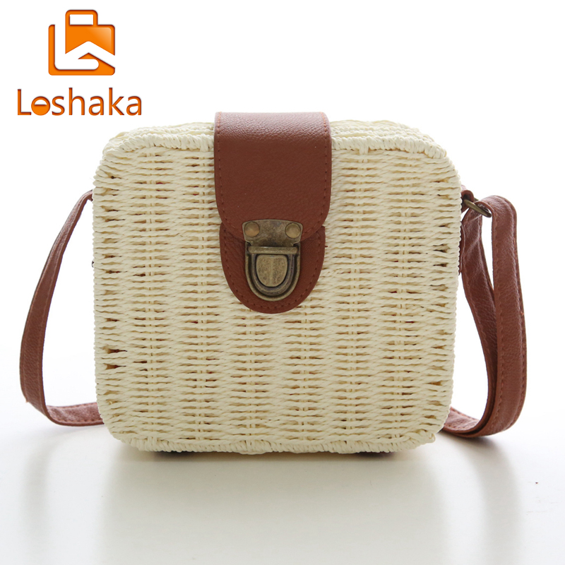 Bohemian Women Beach Bags Rattan Design Shoulder Bag Straw Weave Lock Crossbody Handbags Herald Fashion New Arrivals In From Luggage
