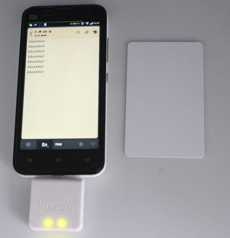 New 125Khz EM4100 Mini USB RFID Reader for For Android Mobile Phone OTG smaller and faster