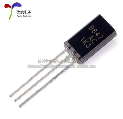 40pcs  20PCS  2SD667AC + 20PCS  2SB647AC TO-92L 2SD667 2SB647 D667AC B647AC D667 B647 Transistor Silicon Epitaxial