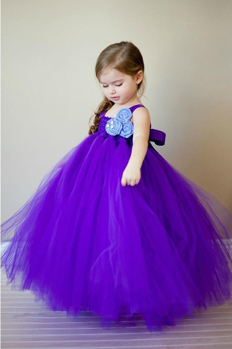 Cheap 2015 ball gown purple flower girl dresses cap sleeves one cheap 2014 ball gown purple flower girl dresses cap sleeves one shoulder handmade flowers floor length izmirmasajfo Images