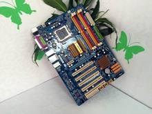 Используется 100% первоначально все твердотельный P43 материнская плата для Gigabyte GA-P43-ES3G DDR2 LGA 775 P43-ES3G
