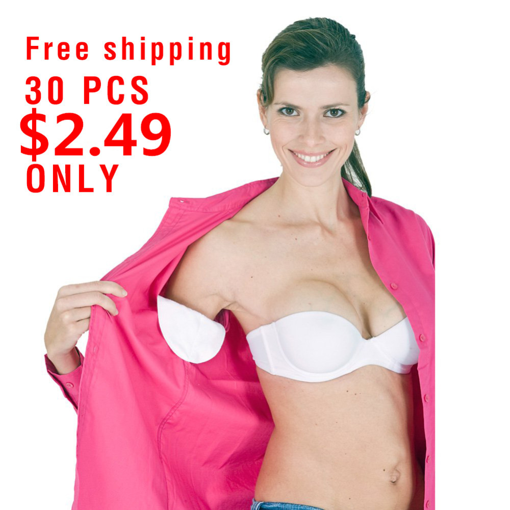 New 30PCS Disposable Underarm Sweat Guard Pads Armpit Sheet Dress Clothing Shield Absorbing deodorant Antiperspirant
