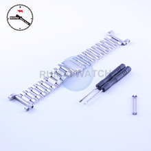 High Quality Stainless Steel Watch Strap Replacement Watchbands with connector for Suunto Core Watch Strap