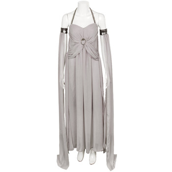 Game Of Thrones Costume Long Halter Dress Halloween Costumes Gray