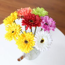 Artificial Flowers Handmade Gerbera Fashion Home Garden Bride Diy Wreath Material Wedding Banquet Decoration Flower Plants