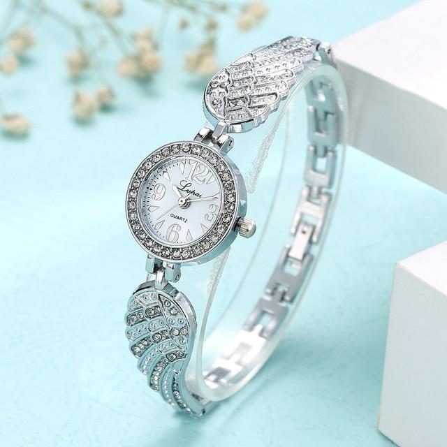 5c93762ede0f 2018 nueva marca JW relojes pulsera mujeres de lujo Crystal pulsera del  reloj de moda Casual