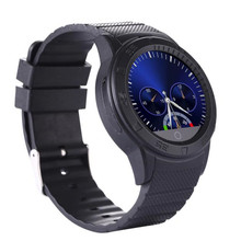 New Smart With Watch Camera Support GSM SIM Bluetooth Smart Sports Wrist Watch Phone Heart Rate For Smartphone Wristwatch