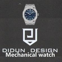 DIDUN uhr Männer Luxus Top-marke Mechanische Uhr Männliche Uhr Stoßfest 30 mt Wasserdicht Leucht Armbanduhr