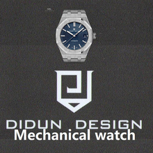DIDUN reloj de Los Hombres de Primeras Marcas de Lujo Mecánico Reloj Negocio de La Moda Masculina Reloj A Prueba de Golpes 30 m Impermeable Luminoso Reloj