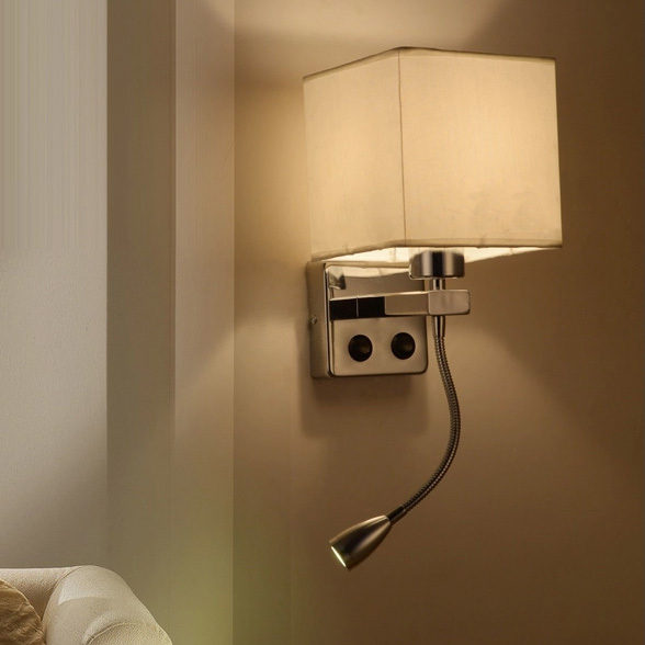 Led Modern Wall Lamps Home Indoor Lighting Hotel Bed Room Side Lights Fixture Foyer Dining Luminaire