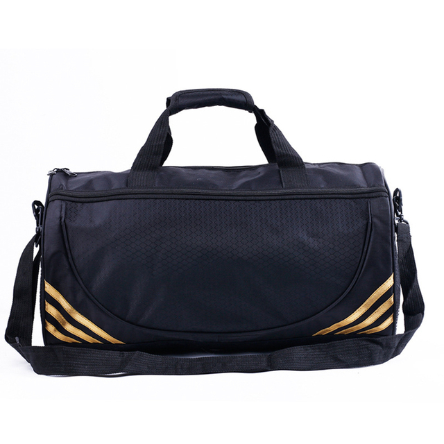 Новый drawstring водонепроницаемый Нейлон мужчины дорожные сумки мужские сумки Большой емкости сумки качества сумки bolsa futbol GYD151